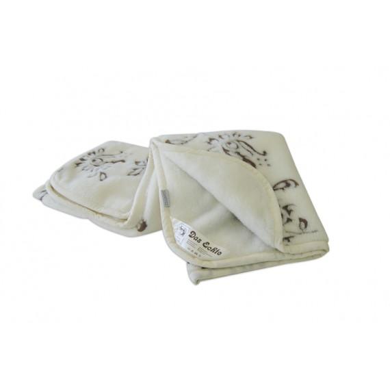 Manta em lã de merino 220x230