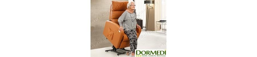 Poltronas de Massagens Reclináveis Elevatórias